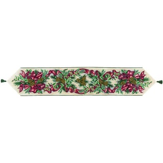 Balsam, Berries, Bows 72-inch Table Runner