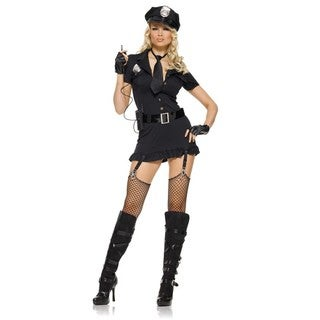 Leg Avenue Women's 'Dirty Cop' 6-piece Costume