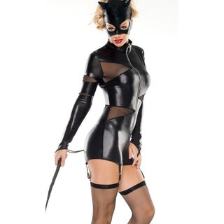 Coquette Women's 'Feline Domineer' 5-piece Costume
