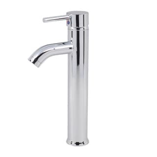 Euro Modern Contemporary Bathroom Lavatory Vanity Vessel Sink Tall Chrome Faucet