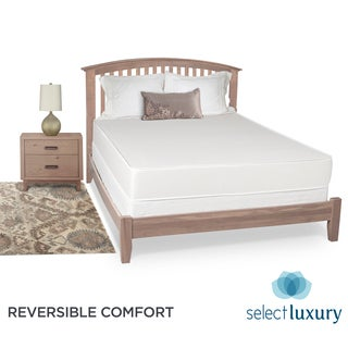 Select Luxury Reversible Medium Firm 8-inch Queen-size Foam Mattress