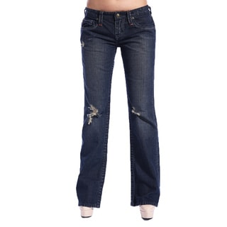 Stitch's Designer Women's Boot Cut Jeans
