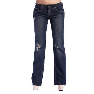 Stitch's Designer Women's Boot Cut Jeans