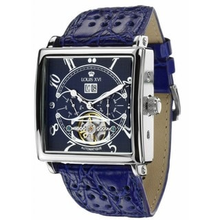 Louis XVI Men's 'La Bastille' Automatic Blue Dial Watch