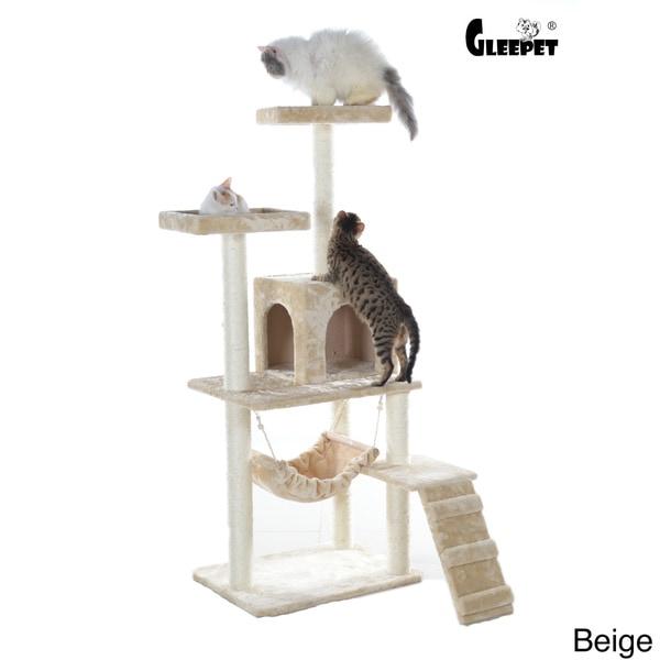 GleePet 57-inch Faux Fur Cat Tree