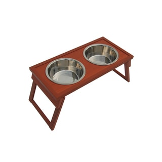 HiLo Eco Friendly Raised Pet Diner