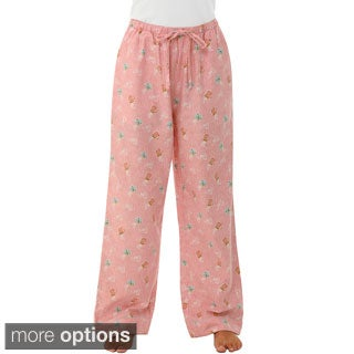 Del Rossa Women's Flannel Pajama Pants