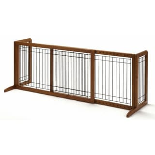 Richell Freestanding Adjustable Pet Gate
