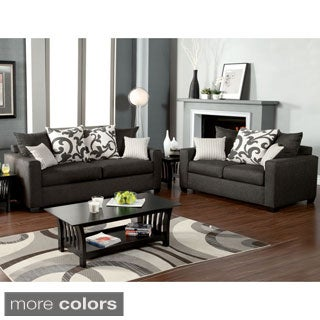 Colebrook 2-piece Sofa Set with Accent Pillows