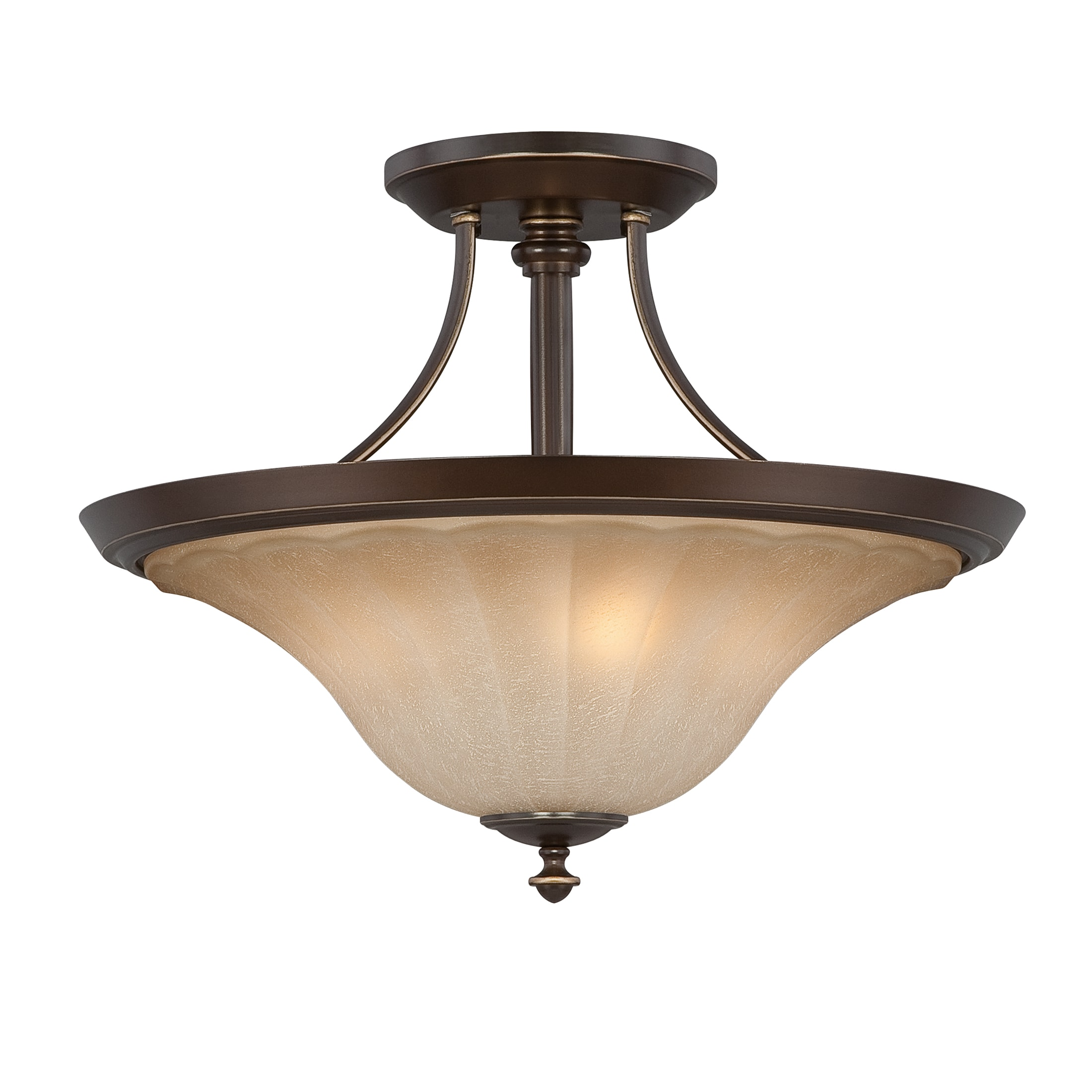 Quoizel 'Aliza' Semi-Flush Mount
