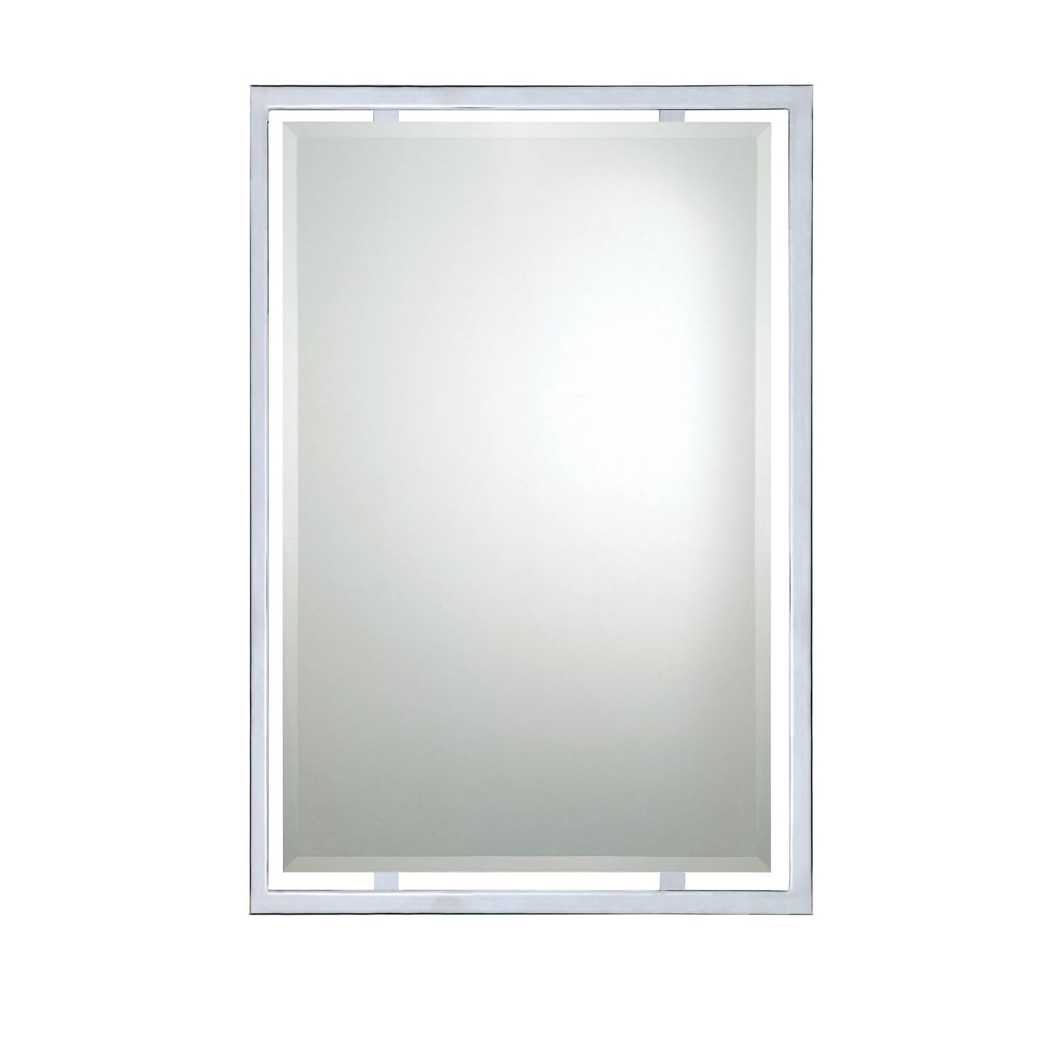 Quoizel Polished Chrome Wall Mirror
