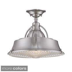 Quoizel 'Cody' Semi-flush Mount