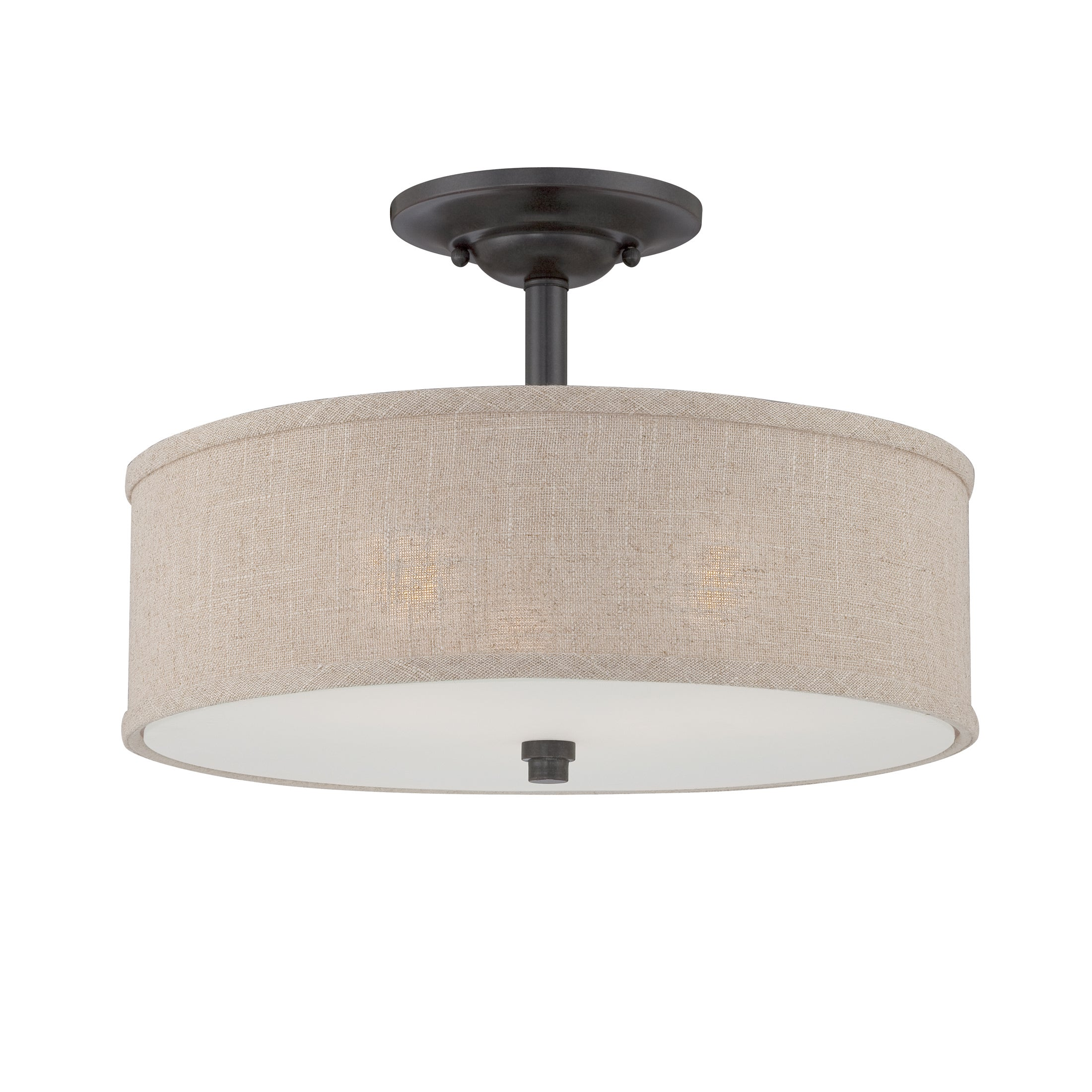 Sale alerts for  Quoizel 'Cloverdale' Semi-flush Mount - Covvet