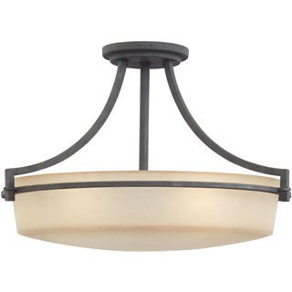 Quiozel 'Caitlyn' Semi-Flush 4-light Mount