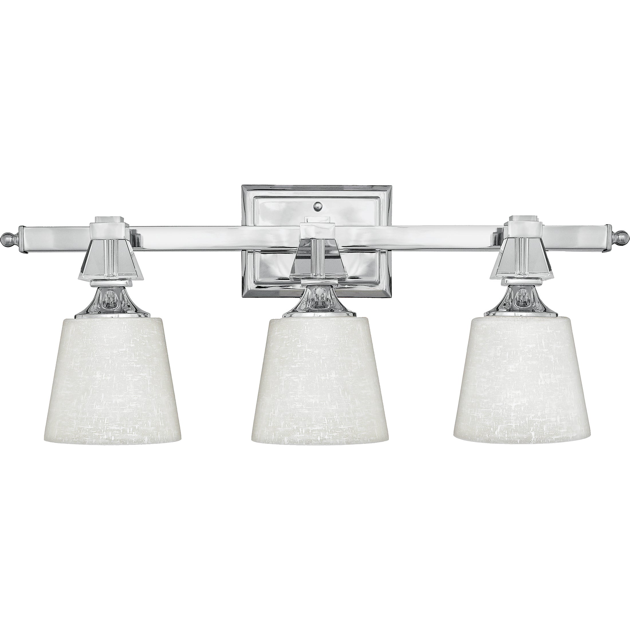 Quoizel 'Deluxe' Three-light Bath Fixture
