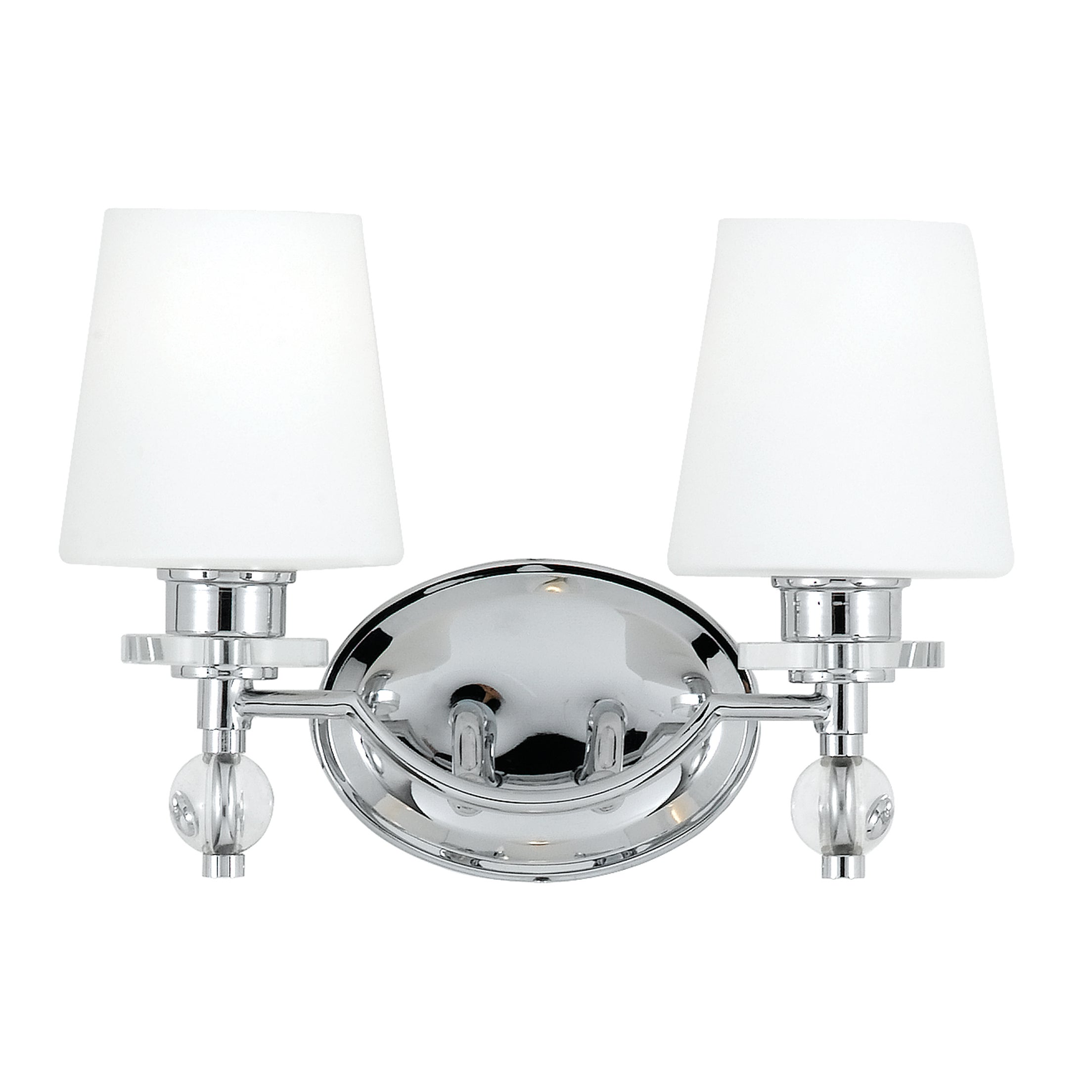 Quoizel 'Hollister' Two-light Bath Fixture