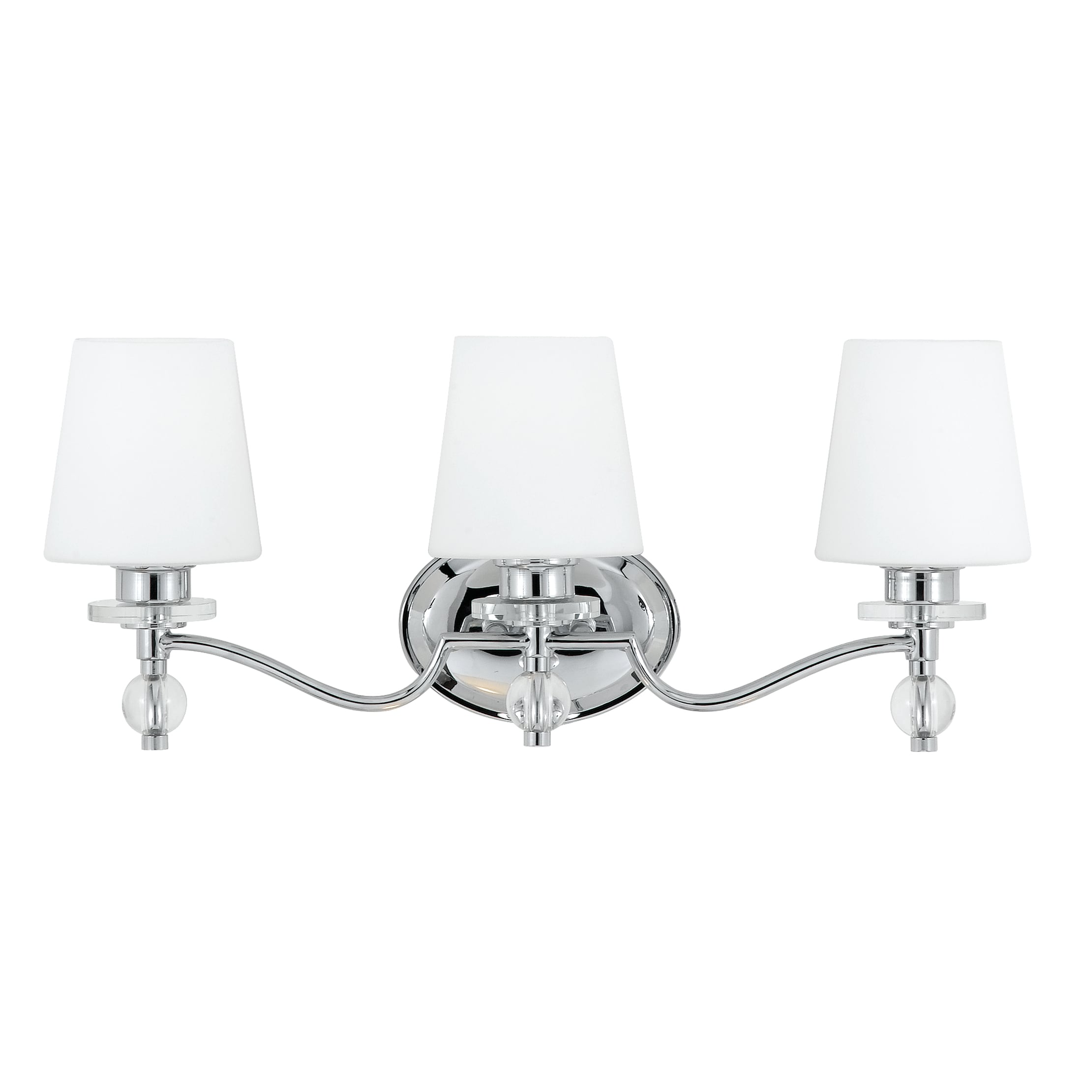 Quoizel 'Hollister' Three-light Bath Fixture
