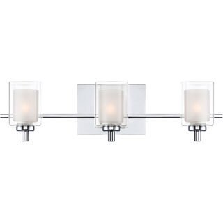 Quoizel 'Kolt' Three-light Bath Fixture