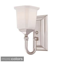 Quoizel 'Nicholas' One-light Bath Fixture