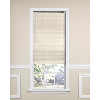 Ivory Vinyl Mini Window Blind