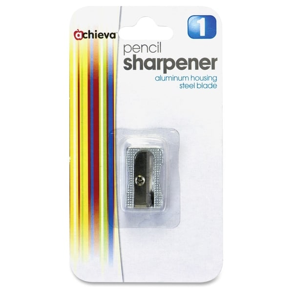 Metal Silver Pencil Sharpener