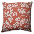 Pillow Perfect New Botany Coral 16.5-inch Throw Pillow
