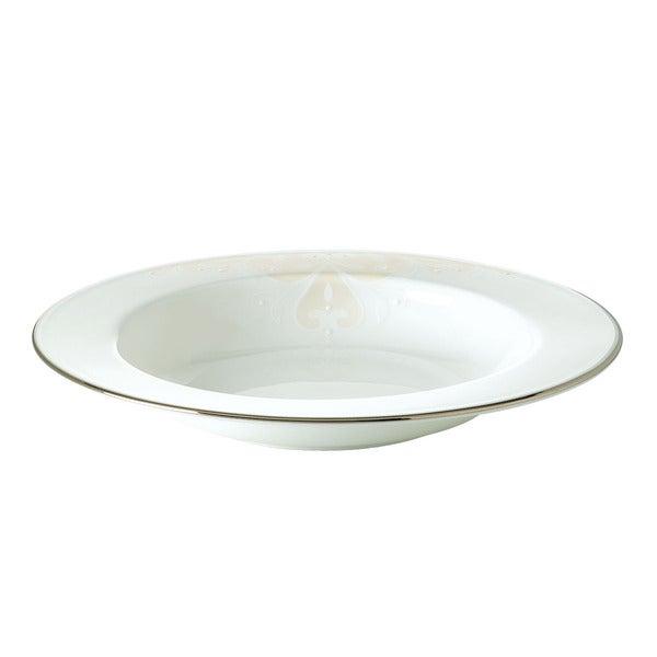 Lenox Opal Innocence Scroll 9-inch Pasta/ Rim Soup Bowl