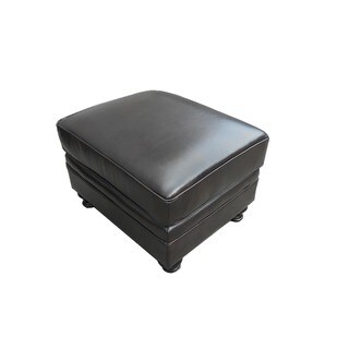 At Home Designs Laredo Dark Chocolate Ottoman