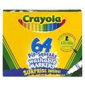 Crayola Pip-Squeaks Skinnies Washable Markers 64 Color/Set
