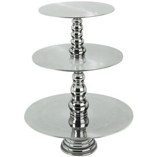 Casa Cortes Event Essentials 3-Tier Round Display Cake and Dessert Stand