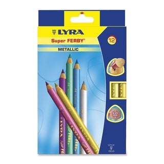 Lyra Super Ferby Woodcase Pencil Assorted Colors 6.25 mm 12 per Pack