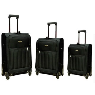 NY Cargo Spinner Fast Track III 3-piece Luggage Set