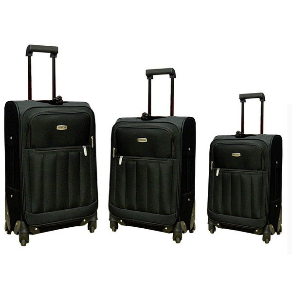 Hercules 3-piece Spinner Fast Track III Luggage Set