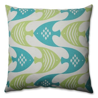 Ocean Current Seaspray 16.5-inch Throw Pillow