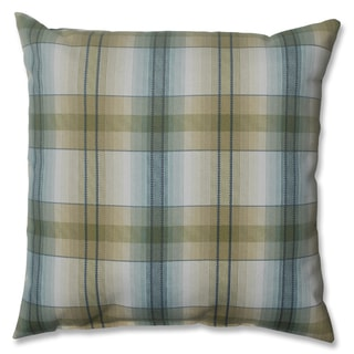 Lamson Plaid Opal 16.5-inch Throw Pillow