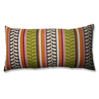 Pike Citron Bolster Throw Pillow