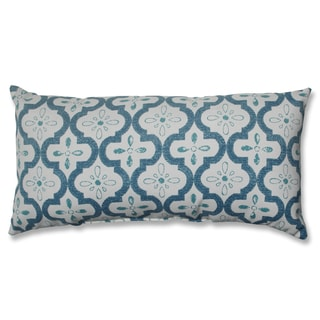 Pillow Perfect Conservatory Blue Bolster Decorative Pillow