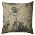 Pillow Perfect Leilani Coal 18-inch Throw Pillow