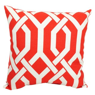 Pillow Perfect Slick Coral 16.5-inch Throw Pillow