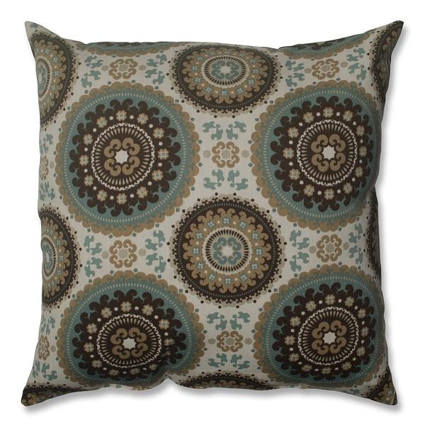 Pillow Perfect Bindis Spray 18-inch Throw Pillow