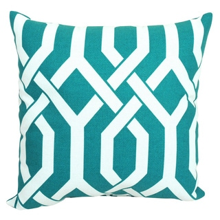 Pillow Perfect Slick Aquamarine 16.5-inch Throw Pillow