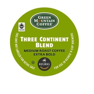 Green Mountain Coffee Three Continent Blend K-Cups