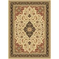 Centennial Ivory Traditional Area Rug (5'3 x 7'3)
