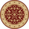 Centennial Red Area Rug (7'10 Round)