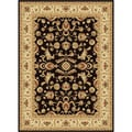 Traditional Centennial 107553 Black Area Rug (11'3 x 15')