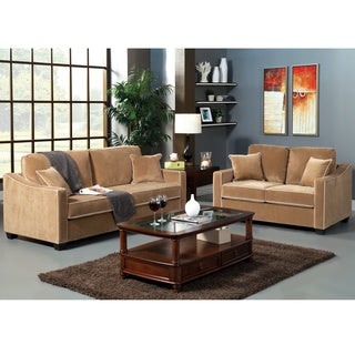 Maxony Modern 2-piece Sofa and Loveseat Set (2-piece)