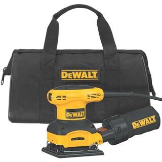 DeWalt 1/4-Sheet Palm-Grip Sander Kit