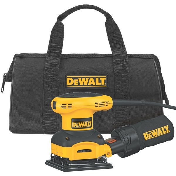 DeWalt 1/4-Sheet Palm-Grip Sander Kit