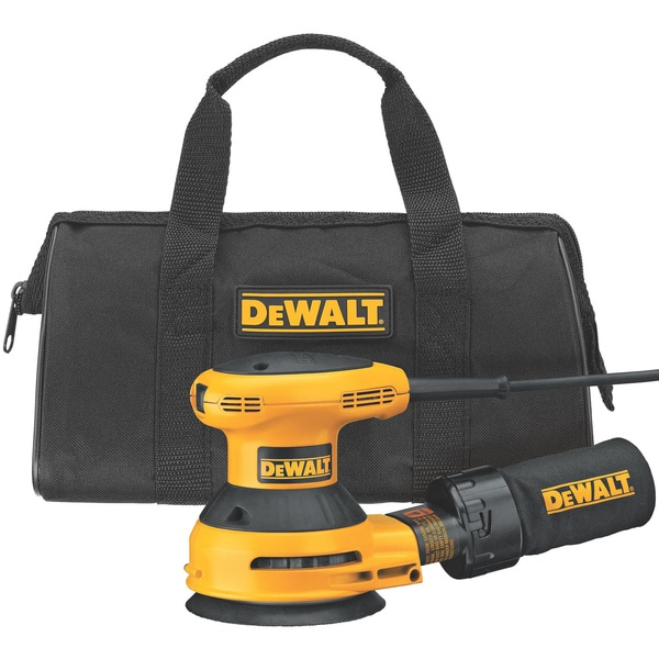 DeWalt 5-inch Random Orbit Sander Kit