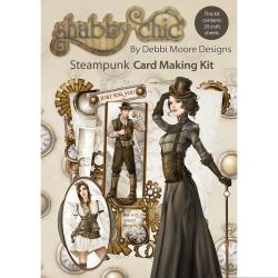 Debbi Moore Shabby Chic Card Kit - Steampunk